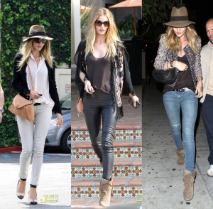 Rosie Huntington – Whiteley has got some serious style!